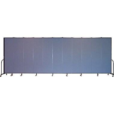 Screenflex Portable Furniture 88''Hx245''W Privacy Panel, Gray (CFSL7411)