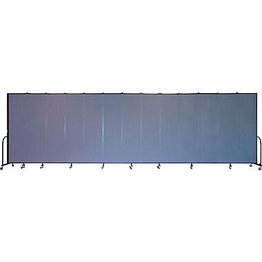 Screenflex Portable Furniture 88''Hx289''W Privacy Panel, Gray (CFSL7413)