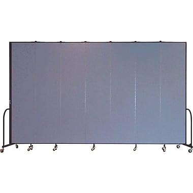 Screenflex Portable Furniture 96''Hx157''W Privacy Panel, Gray (CFSL807)