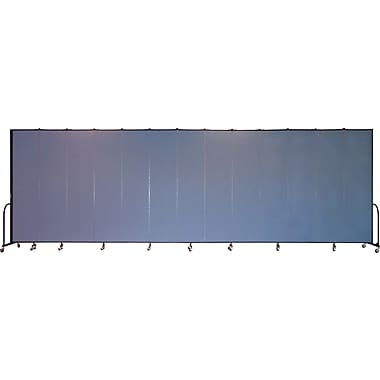 Screenflex Portable Furniture 96''Hx289''W Privacy Panel, Gray (CFSL8013)