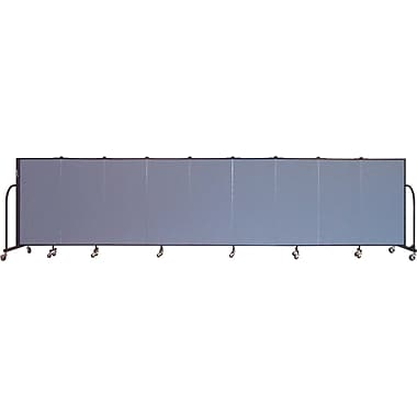Screenflex Portable Furniture 48''Hx201''W Privacy Panel, Gray (CFSL409)
