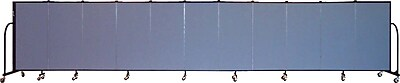 Screenflex Portable Furniture 48''Hx245''W Privacy Panel, Gray (CFSL4011)