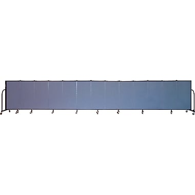 Screenflex Portable Furniture 48''Hx289''W Privacy Panel, Gray (CFSL4013)