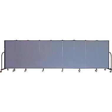 Screenflex Portable Furniture 60''Hx201''W Privacy Panel, Gray (CFSL509)