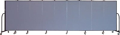 Screenflex Portable Furniture 60''Hx201''W Privacy Panel, Gray (CFSL509)