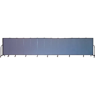 Screenflex Portable Furniture 60''Hx289''W Privacy Panel, Gray (CFSL5013)