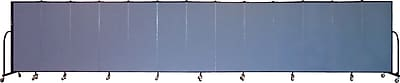 Screenflex Portable Furniture 60''Hx289''W Privacy Panel, Gray (CFSL5013)
