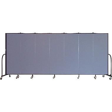 Screenflex Portable Furniture 72''Hx157''W Privacy Panel, Gray (CFSL607)