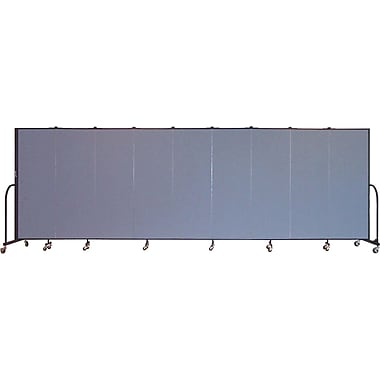Screenflex Portable Furniture 72''Hx201''W Privacy Panel, Gray (CFSL609)