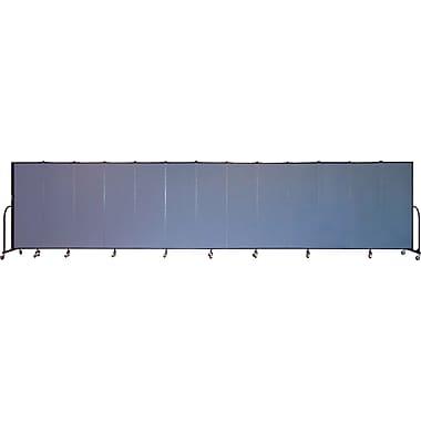 Screenflex Portable Furniture 72''Hx289''W Privacy Panel, Gray (CFSL6013)