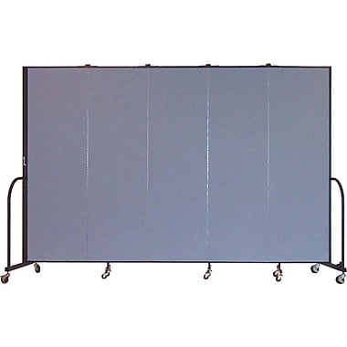 Screenflex Portable Furniture 80''Hx113''W Privacy Panel, Gray (CFSL685)