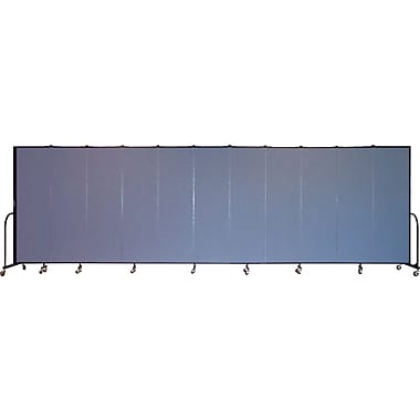 Screenflex Portable Furniture 80''Hx245''W Privacy Panel, Gray (CFSL6811)