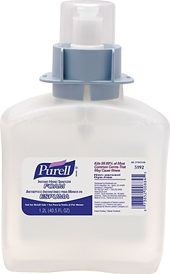 Purell® FMX-12™ Instant Hand Sanitizer Foam Refill, 1,200 ml., 3/Case