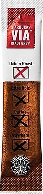 Starbucks® VIA™ Ready Brew Instant Italian Roast Ground Coffee, Regular, .11 oz., 50 Packets