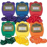 Champion Sports Stopwatches, 6/St (CSI910SET)