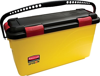 Rubbermaid HYGEN™ Charging Microfiber Bucket, Yellow