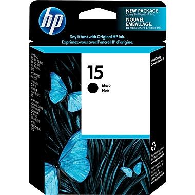 HP 15 Black Original Ink Cartridge (C6615DN)