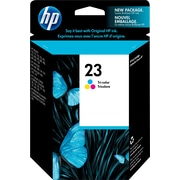 HP 23 Tri-Colour Original Ink Cartridge (C1823D)