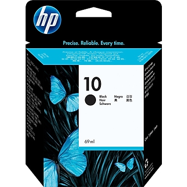 HP 10 Black Original Ink Cartridge (C4844A)