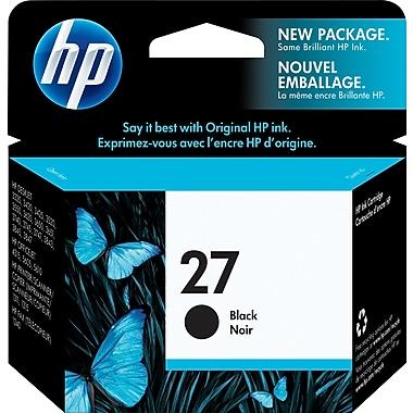 HP 27 Cartouche d'encre noire d'origine (C8727AN)
