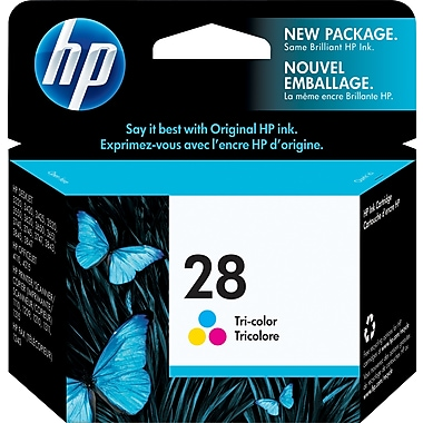 HP 28 Tri-Colour Original Ink Cartridge (C8728AN)