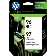 HP 96 Black & 97 Tri-Colour Original Ink Cartridges, 2/Pack (C9353FN)
