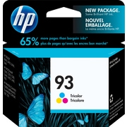 HP 93 Tri-Colour Original Ink Cartridge (C9361WN)