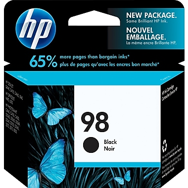 HP 98 Black Original Ink Cartridge (C9364WN)