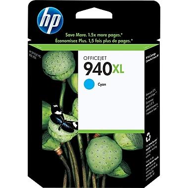 HP 940XL Cartouche d'encre cyan à rendement élevé d'origine (C4907AN)