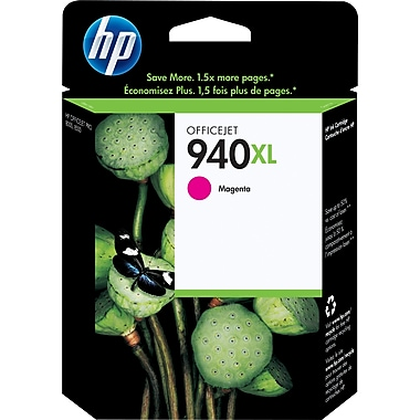 HP 940XL Cartouche d'encre magenta à rendement élevé d'origine (C4908AN)