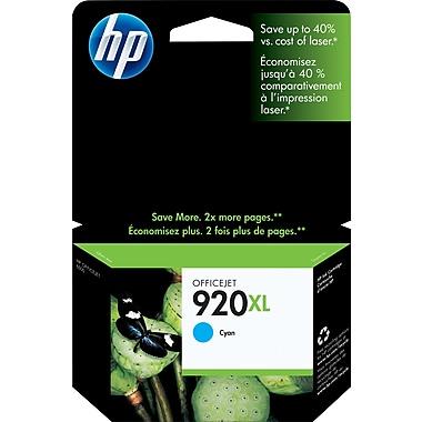 HP 920XL Cartouche d'encre cyan à rendement élevé d'origine (CD972AN)