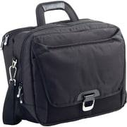 "Allsop® Ohmetric 3 in 1 Workstation Shoulder Case, Black, 15"", 13""H x 16 1/2""W x 5 1/2""D"