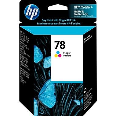 HP 78 Cartouche d'encre tricolore d'origine (C6578DN)