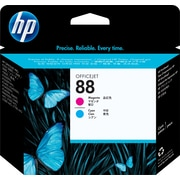 HP88 Tête d'impression magenta et cyan d'origine (C9382A)