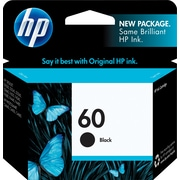HP 60 Black Original Ink Cartridge (CC640WN)