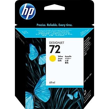 HP – Cartouche d'encre C9400A 72, jaune, 69 ml