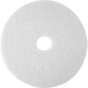 "Brighton Professional™ Floor Polishing Pad, 20"", 5/Ct, White"