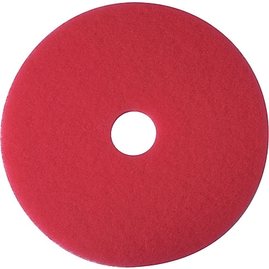 3M™ Low-Speed Floor Pad, Buffing Pad 5100, Red, 13
