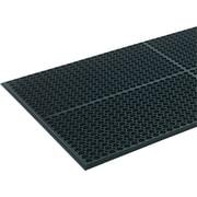 """Crown Safewalk-Light™ Anti-Fatigue Mat, 36""""W x 60""""L, Black"""