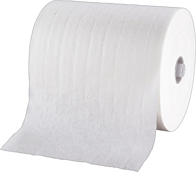 GP enMotion® Premium Touchless Paper Towels, 1 Ply, White, 425 Feet/Roll, 6 Rolls/Carton (89410)