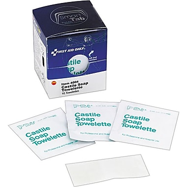 First Aid Only™ Castile Soap Towelettes, SmartCompliance™ Refill