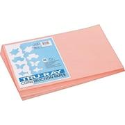 "Pacon Tru-Ray Construction Paper, 76 lbs., Salmon, 12"" x 18"", 50 Sheets/Pk"