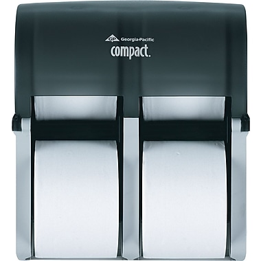 Georgia-Pacific® Coreless 4-Roll Bathroom Tissue Dispenser