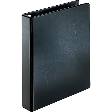 Cardinal EasyOpen Locking 1.5-Inch D 3-Ring Binder, Black (18722)