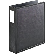 "Cardinal® SuperLife™ EasyOpen® Locking Slant-D® Ring Binder, Black, 525-Sheet Capacity, 2"" (Ring Diameter)"