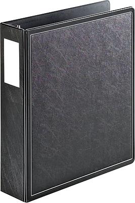 Cardinal® SuperLife™ EasyOpen® Locking Slant-D® Ring Binder, Black, 525-Sheet Capacity, 2