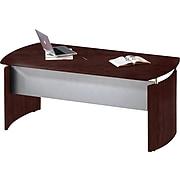 "Safco Napoli™ Series 63""W Desk, Mahogany (ND63MAH)"