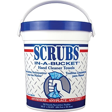 Scrubs in a Bucket Hand Cleaning Towels