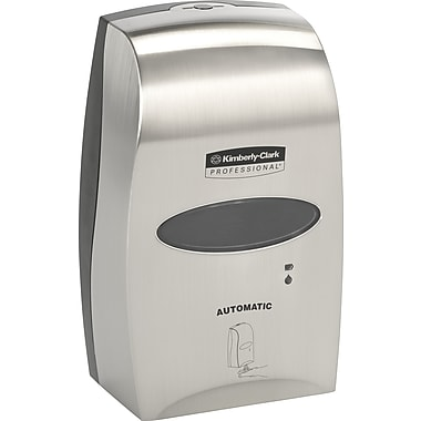 Kimberly-Clark® Touchless Skin Care Dispenser, Brushed Metallic