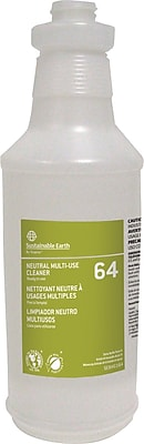 Sustainable Earth® by Staples® Silk Screen Bottle #64, 32 oz.